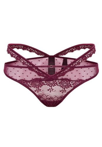 807f11e9d Shop Women Secret Classic strappy lace panties Online on ZALORA Philippines