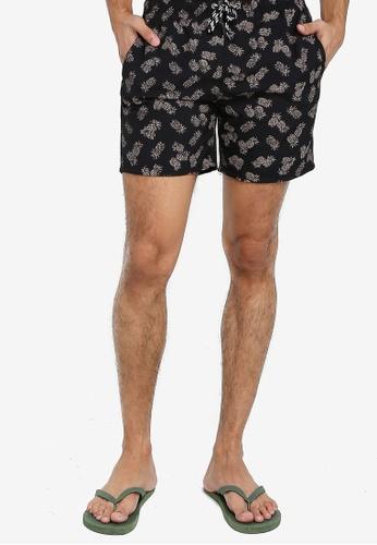 Electro Denim Lab 黑色 Swim Shorts 04FB7US80FC478GS_1