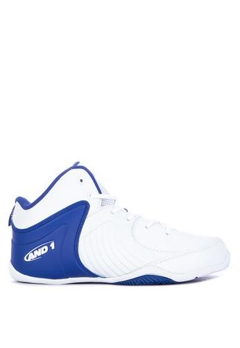 And1 white Tsunami Basketball Shoes 1D623SH2C34E07GS_1