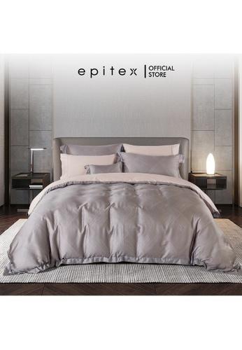 Epitex Epitex HOMME 1600TC Tencel Printed Bedsheet - Quilt Cover Set - (w quilt cover) F6534HL7D304F6GS_1
