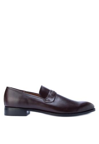 Antonio Manila brown Tyler Formal Shoes AN569SH0JTKKPH_1