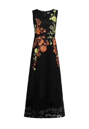 Megane black RED ROMANCE MARICE Lace Dress C1A4FAAA37421CGS_1
