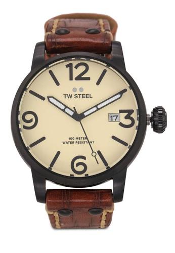 TW Steel brown Maverick MS41 Watch 89715AC020D53AGS_1