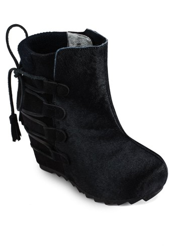 Slip On Izalora 內衣nner Wedge Boots, 女鞋, 靴子