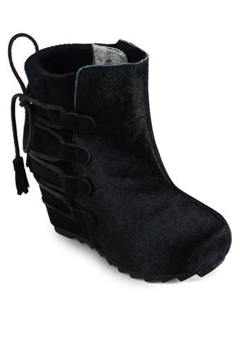 Slip On Izalora 內衣nner Wedge Boots, 女鞋, 靴子