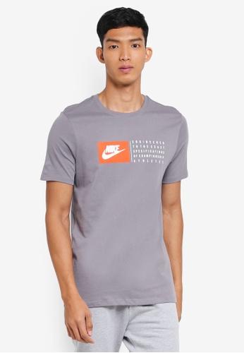 Nike white Nike Sportswear T-Shirt 68779AAF858649GS_1