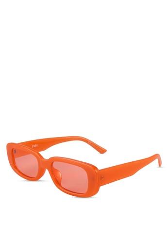 Rubi orange Abby Sunglasses 57D33GLC129B05GS_1