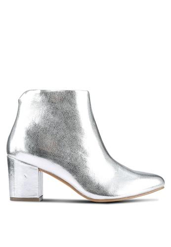 Vero Moda silver Merle Boots VE975SH0RRHHMY_1
