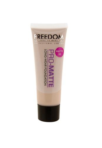 Freedom Makeup Freedom Pro Matte Foundation Pro Matte 02 FR785BE35DEISG_1