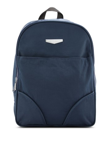 BAGSTATIONZ MDesprit outlet 旺角S Nylon Fabric Backpack, 包, 後背包
