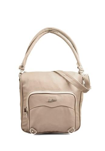 JAVA SEVEN beige Scummy Tote Bags C0B7BAC2E9D107GS_1