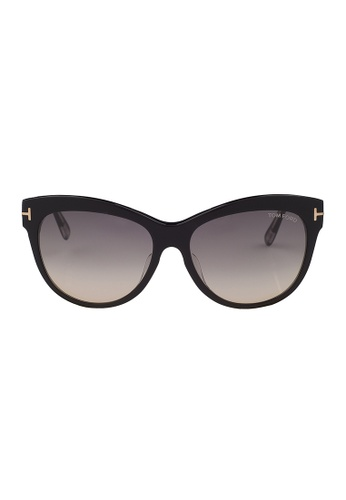 Tom Ford black TOM FORD Lily Sunglasses FT0430F 05B TO545AC66JIVMY_1