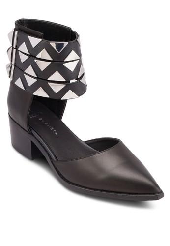 esprit hk storeVada 印花踝帶尖頭低跟鞋, 韓系時尚, 梳妝