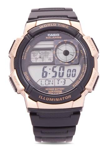 Casio black Casio Jam Tangan Pria - Black Gold - Resin - AE-1000W-1A3VDF D28DBACC2337D2GS_1