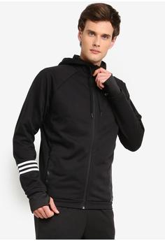 quality design e0a03 d6495 adidas black adidas essentials motion pack track jacket 4A449AAD364981GS 1