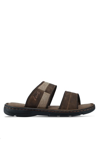 Louis Cuppers brown Casual Sandals CD207SH318B64AGS_1