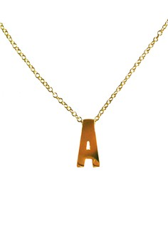 A Stainless Letter Necklace