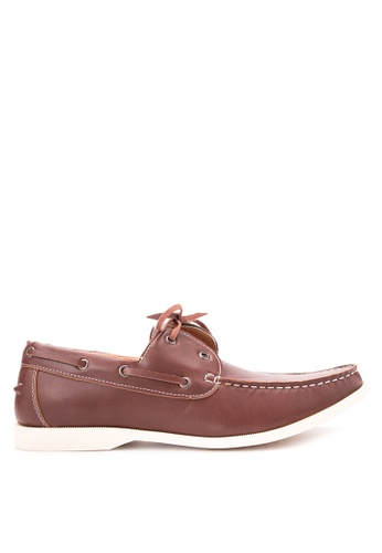 H2Ocean brown Tony Boat Shoes H2527SH92CNFPH_1