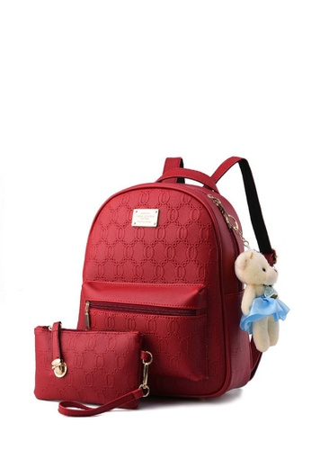 TCWK red Ladies Backpack TC258AC58IXPMY_1