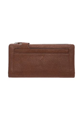 Jack Studio Jack Studio Genuine Pebble Leather Tab Clutch Big Wallet CE36EAC7AF9AA3GS_1