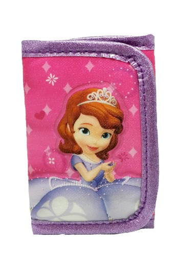 Disney Sofia The First pink Disney Sofia Castle Tri Fold Wallet BE1D2KCE99FFCDGS_1