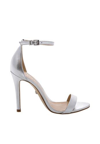 SCHUTZ silver Ankle Strap High Heel Sandal - MAGNOLIA [PRATA] E29E2SH522585BGS_1