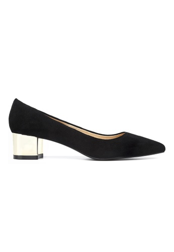 Byford black Maypole 4cm Mid Heels 99160SHA5B210FGS_1