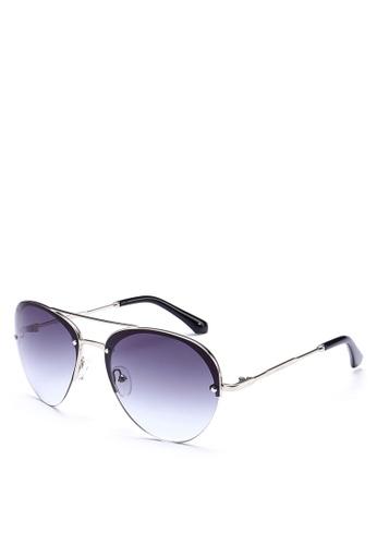Privé Revaux silver The Warrior Sunglasses PR660GL0RC3AMY_1