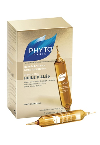 PHYTO Huile D'ales Intense Hydrating Pre-Shampoo Oil Treatment PH934BE0GLTQSG_1