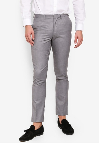 Electro Denim Lab 灰色 Formal Long Pants C0ECDAAE13AD63GS_1