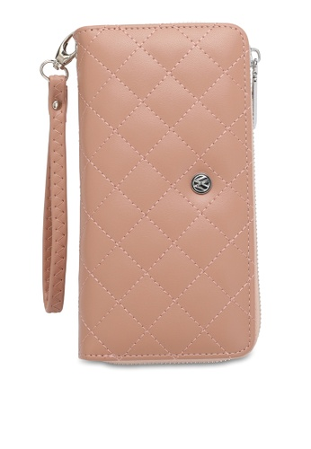 Volkswagen pink Faux Leather Long Wallet F9161ACEB01C8CGS_1