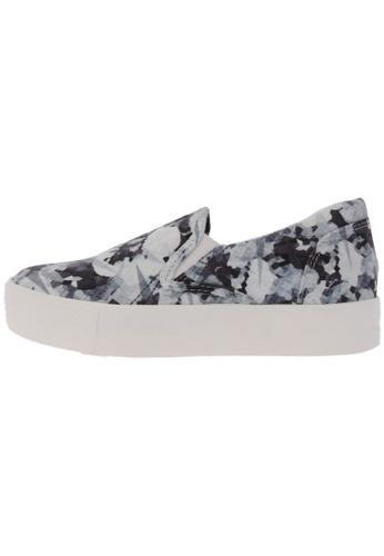 Maxstar C7 30 Flower Denim White Platform Slip on Sneakers US Women Size MA168SH21DKCHK_1