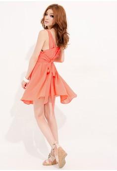 Simple Sleeveless Sexy Dress