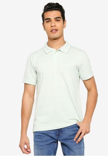 Indicode Jeans green Conley Polo Shirt 84483AAC5175E8GS_1