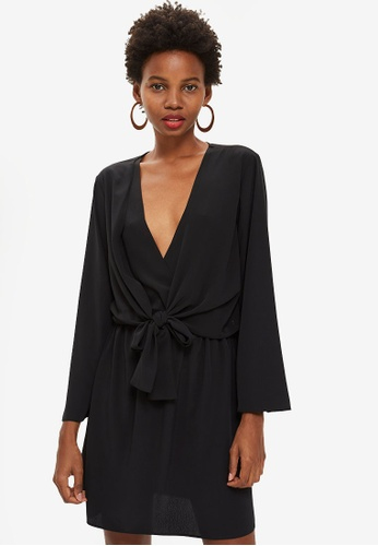 036b247c82cba Buy TOPSHOP Tiffany Knot Mini Dress Online   ZALORA Malaysia