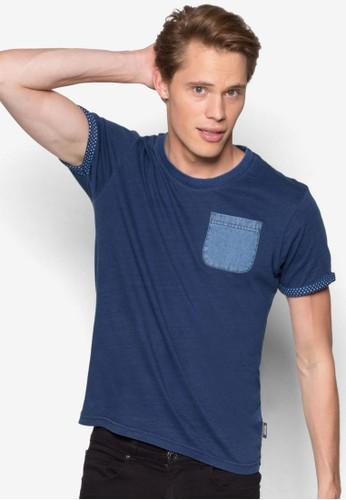 Bert 口袋短袖TEesprit 品牌E, 服飾, 服飾