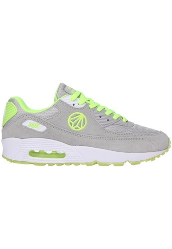 paperplanes grey Paperplanes-1101 Fashion Colorful Air Cushion Trendy Sneakers Shoes US Women Size PA355SH85PFMSG_1