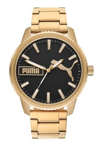 PUMA gold Ultrafresh Watch P5079 D9353AC64C8062GS_1