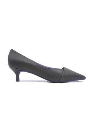 Flatss & Heelss by Rad Russel 綠色 Chic Kitten Heels - Green 3EE4CSH7A0393DGS_1