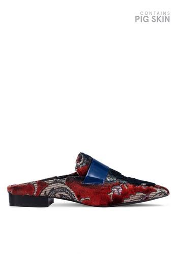 E8 by Miista 多色 Lovisa 絲絨懶人鞋 656C6SH23E826EGS_1
