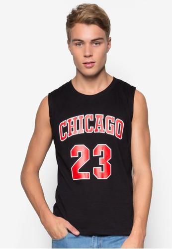 Chicago #esprit mongkok23 籃球風背心, 服飾, 背心