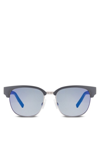 Boss Orange blue Vintage Clubmaster Sunglasses BO434GL93HRQMY_1