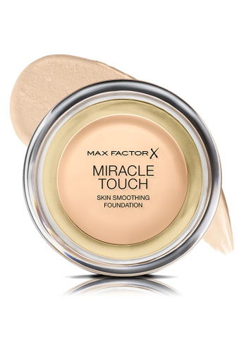 Max Factor beige Max Factor Miracle Touch Liquid Illusion Foundation 11.5g, 040 Creamy Ivory 428B0BE8F02E82GS_1