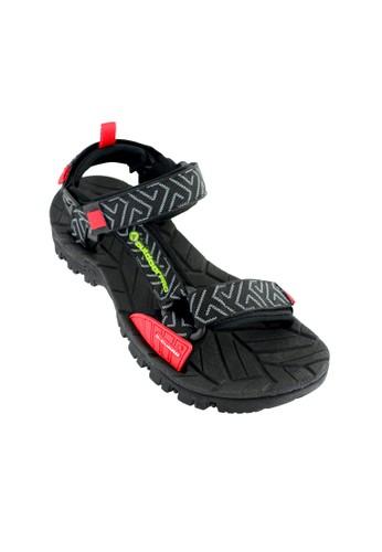 OUTDOOR FOOTWEAR red Outdoor Sigma Grey Sandal Gunung OU533SH45EVEID_1