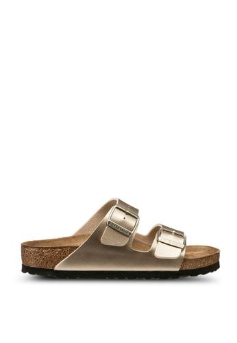 Birkenstock 金色 Arizona Birko-Flor Sandals 044B6SH5D9DB21GS_1