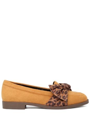 London Rag 褐色 豹纹休闲鞋 SH1775 BF785SH7D062FFGS_1