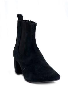 Ivory Mid-Cut Boots