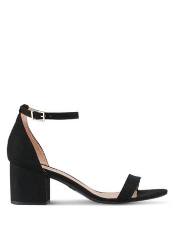 Call It Spring black Borewiel Sandals 70305SH62306A7GS_1