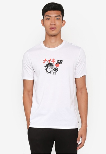 Nike black and white Men's Nike SB Dry T-Shirt D38AFAA84F0AF9GS_1