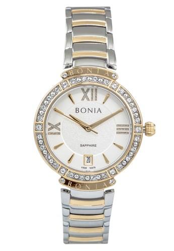 BONIA silver Bonia BP10375-2113S - Jam Tangan Wanita - Silver Gold 8E064AC9EE23EFGS_1